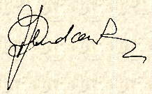 Signature of Paul AUDCENT