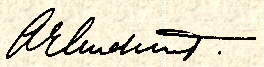 Signature of Anthony AUDCENT